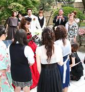 先輩カップルの声 中嶋一希・麻美様 -09年6月20日挙式-